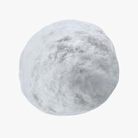 snowball 01 3d model