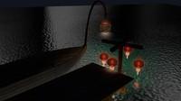 2 chinese lantern