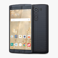 3d model lg v10 space black
