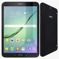 samsung galaxy tab s2 3d model