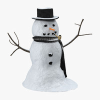 3d snowman 01