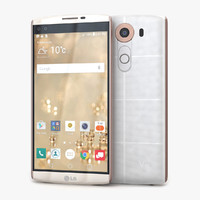 3d model of lg v10 luxe white