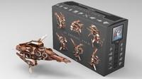 10 drones 3d model
