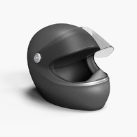 3d model of racing helmet
