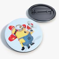 badge minions 3d max