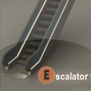 3d lwo escalator anim