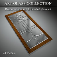 3d art glass window