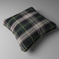 3ds max realistic decorative pillow
