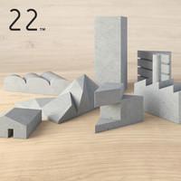 tangram cityscape 3d model