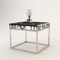 3d andrew martin luna table model