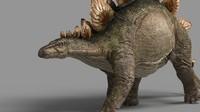 3ds max stegosaurus rigging