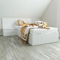 fbx v-ray bed 90x200