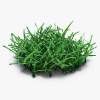 3d model grass 4