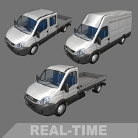 3d daily chassis crew model