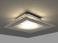 3d model ceiling lamp blitz wall