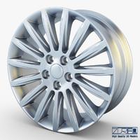3d mondeo spoke 17 alloy wheel model