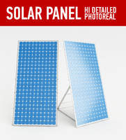 3dsmax solar panel