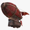 airship 3D models