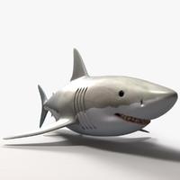 shark great 3d model