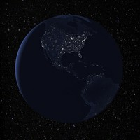 3ds max night earth animation