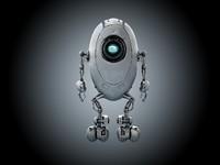 sci-fi robot max