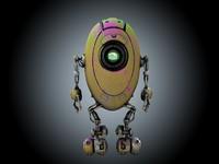 obj sci-fi robot