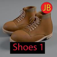 free shoes 1 3d model