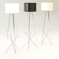 3d flos f1 floor lamp