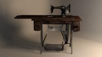 3ds max sewing machine singer sphinx