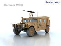 3d hmmwv humvee military