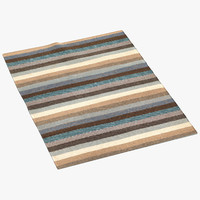 liniedesign caravan brown rug max
