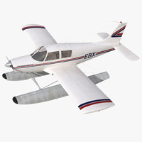 cinema4d light aircraft piper pa