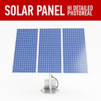 3d 3ds solar panel