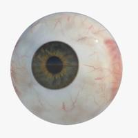 maya realistic human eye