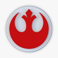 star wars rebels logo 3d max