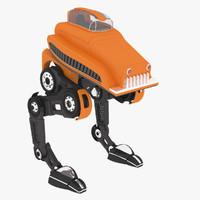 sci-fi walker corona ta-s 3d model