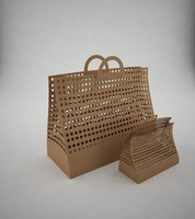 bag cardboard 3d max