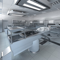 3d model anatomy autopsy laboratory equipment