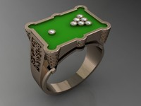 3d pool ring
