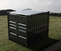 - 10ft iso shipping container 3d ige