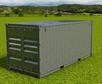20FT ISO Shipping Container - Solared Survivor