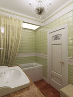 3d classical washroom 5