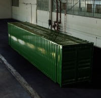 45FT ISO Shipping Container - Solared Survivor