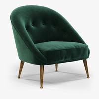 obj brabbu malay armchair chair