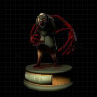 terror character 3d fbx