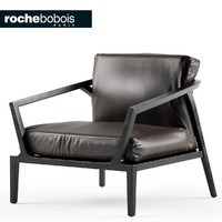 3d model chair armchair roche