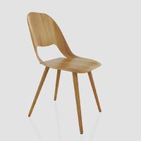 Vitra Jill Wood Chair