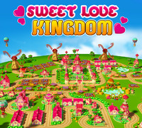 3d model sweet love kingdom