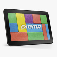 3d model digma optima 10 1