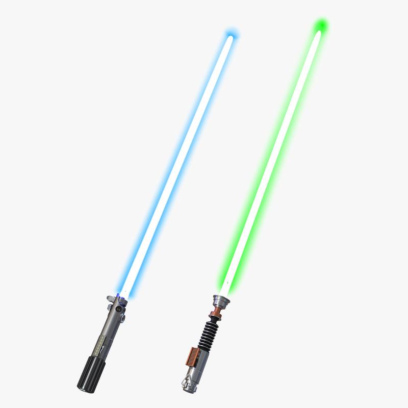 Luke Skywalker Lightsaber Color